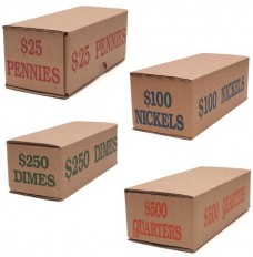 Pack-n-Ship Coin Transport Boxes