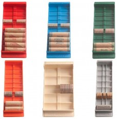 Port-a-Count Double Duty Coin Storage Trays