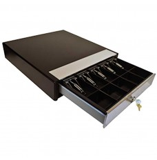 Manual Cash Drawer Model HP-122L-5/5 with Mounting Brackets