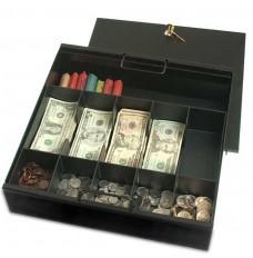 Black Coin & Bill Tray - 15-1/16W x 3-1/2H x 15D