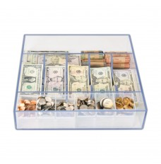Clear Money Tray - 14-5/8W x 3H x 15L
