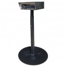 Stainless Steel Drive Up Forms Dispenser with Portable Round Base