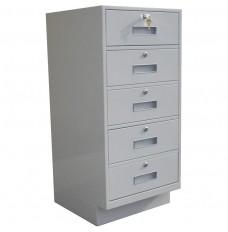 Fenco 5-Drawer Teller Pedestal