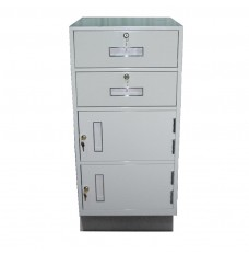 Fenco Teller Pedestal, (2) Drawers & (2) Cabinets