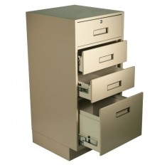 Fenco Silverline Pedestal, (3) Drawers (Lock on Top Drawer Only)