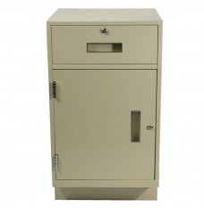 Fenco Silverline Pedestal (1) Box Drawer, (1) Cabinet