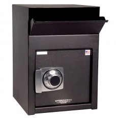 Front Loading Dual Compartment Depository Safe w/ Dual Custody Group II Combination Lock