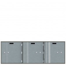 Safe Deposit Boxes - 3 Boxes 10 in W x 10 in H