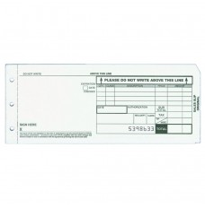 3-part Long Form Charge Slips - Case of 4000