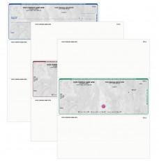 Stone Voucher Style Checks-Imprinted