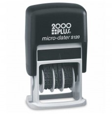 Stock Self-Inking Date Stamp with Black Ink
