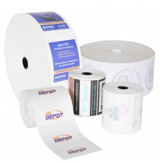 Custom Printed ATM or POS Paper Rolls