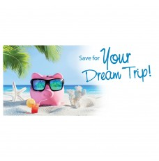 Pre-Designed Drive Up Envelope - Save for Your Dream Trip