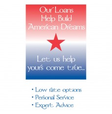 Made-to-Order Drive Up Envelope - American Dreams