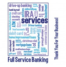 Made-to-Order Drive Up Envelope - Full Service Banking