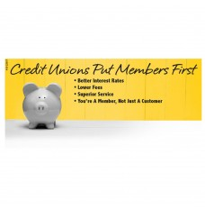Pre-Designed Drive Up Envelope - Credit Union Members First
