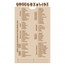 Made-to-Order Drive Up Envelope - Grocery List