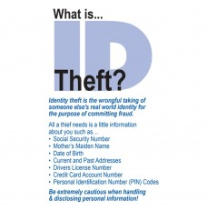 Made-to-Order Drive Up Envelope - What is ID Theft