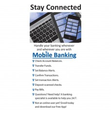 Made-to-Order Drive Up Envelope - Stay Connected - Mobile Banking