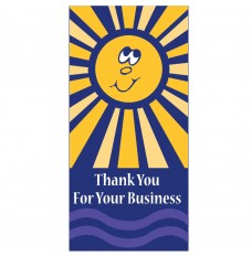 Pre-Designed Drive Up Envelope - Thank You for Your Business