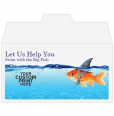 Ready-to-Ship Drive Up Envelopes - Swim With The Big Fish - w / 1 Color Custom Print