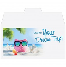 Ready-to-Ship Drive Up Envelopes - Save for Your Dream Trip!