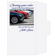 Ready-to-Ship Drive Up Envelopes - Choosing Your Color - Auto Loan