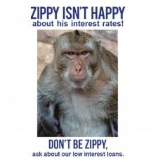 Pre-Designed Drive Up Envelope - Don't Be Zippy