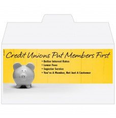 Ready-to-Ship Drive Up Envelopes - Credit Union Members First