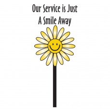 Pre-Designed Drive Up Envelope - Just A Smile Away