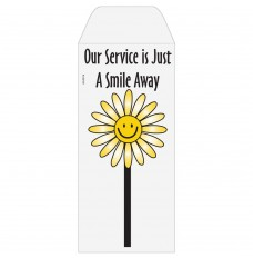 Ready-to-Ship Drive Up Envelopes - Just A Smile Away - Flower