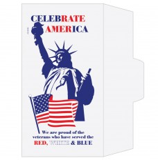 Ready-to-Ship Drive Up Envelopes - Patriotic - Statue of Liberty