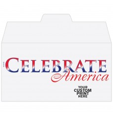 Ready-to-Ship Drive Up Envelopes - Patriotic - Celebrate America - w / 1 Color Custom Print