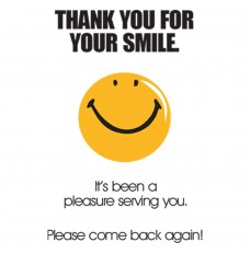 Pre-Designed Drive Up Envelope - Thank You For Your Smile