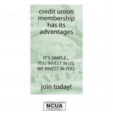 Pre-Designed Drive Up Envelope - Credit Union Membership