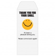 Ready-to-Ship Drive Up Envelopes - Thank You For Your Smile - Smiley Face