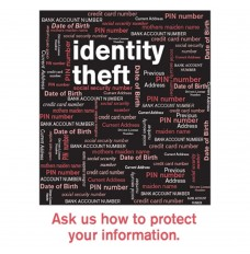 Pre-Designed Drive Up Envelope - Identity Theft