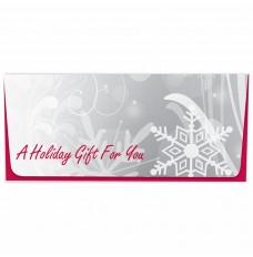Exclusive Holiday Currency Envelopes - A Holiday Gift For You - Snowflakes