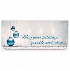 Exclusive Holiday Currency Envelopes - May your holidays sparkle and shine