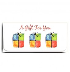 Currency Gift Envelopes - A Gift For You - Three Presents