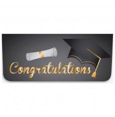 Currency Gift Envelopes - Congratulations - Cap & Diploma