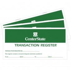 Custom Check Register