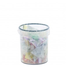 4 Gallon Small Clear Trash Can
