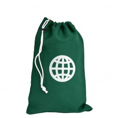6-1/2W x 10H Canvas Drawstring Bag - Made to Order