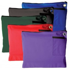 14W x 11H 600D Polyester Large Zipper Bags - Ready to Ship