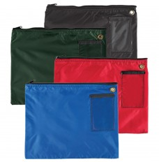 14W x 11H 200D Nylon Large Zipper Bags - Ready to Ship
