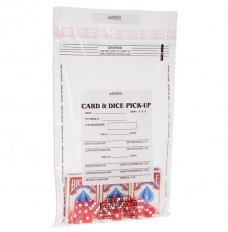 10W x 14H Card and Dice Pick-Up Bags - Case of 1000