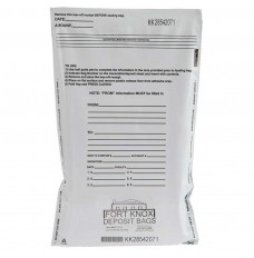12W x 16H White Value Deposit Bags
