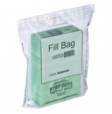 Currency Fill Bags - $100 Denomination - Case of 500