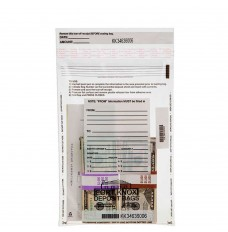 9W x 12H Clear Value Deposit Bags - Case of 1000